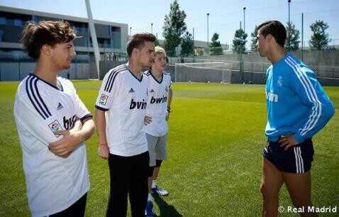 Cristiano Ronaldo, One Direction