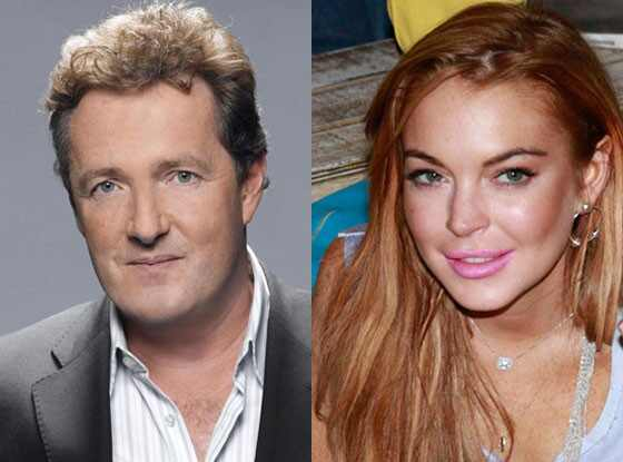 Lindsay Lohan, Piers Morgan