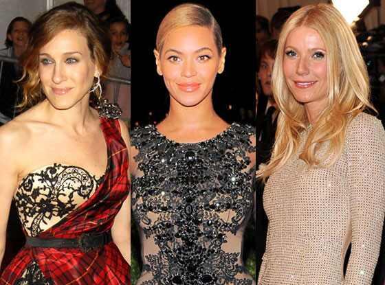 Sarah Jessica Parker, Gwyneth Paltrow, Beyonce, MET Gala