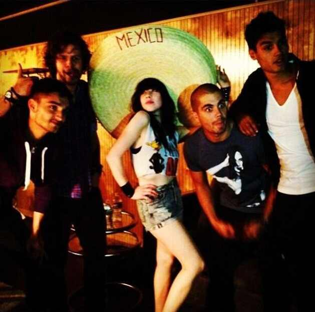Carly Rae, The Wanted, Ashley Tisdale, Vanessa Hudgens, Max george