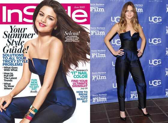 Jennifer Lawrence, Selena Gomez, InStyle