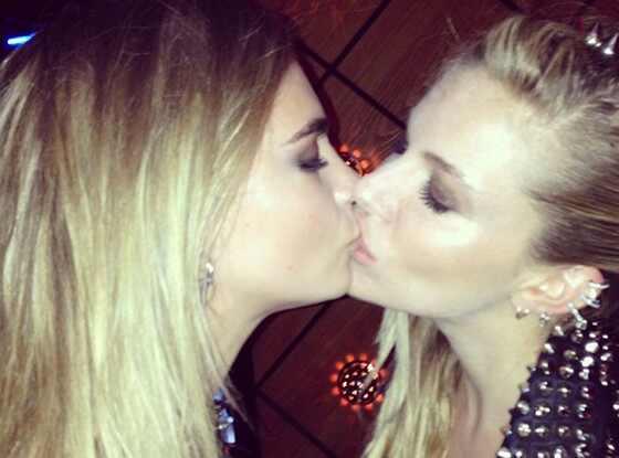 Sienna Miller, Cara Delevigne, Instagram