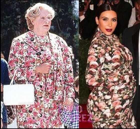 Robin Williams, Kim Kardashian