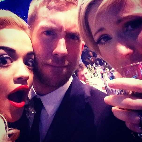 Rita Ora, Calvin Harris, Instagram