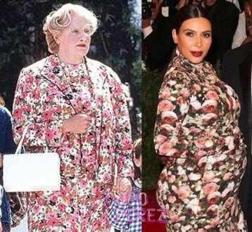 Kim Kardashian, Robin Williams