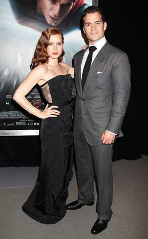 Amy Adams, Henry Cavill, Man of Steel
