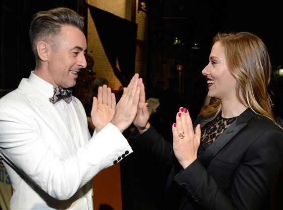 Alan Cumming, Scarlett Johansson