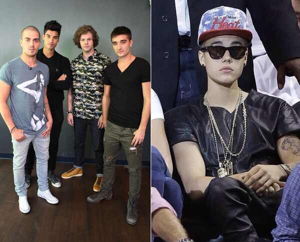 The Wanted, Justin Bieber