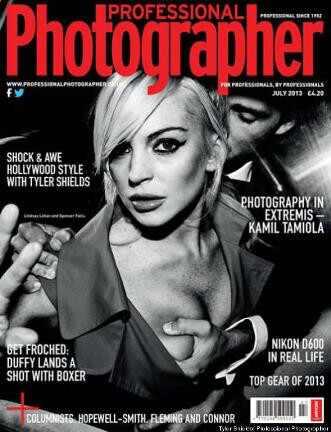 Lindsay Lohan, Professional Photographer