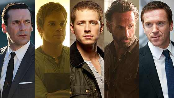 Jon Hamm, Josh Dallas, Damian Lewis, Michael C. Hall, Andrew Lincoln