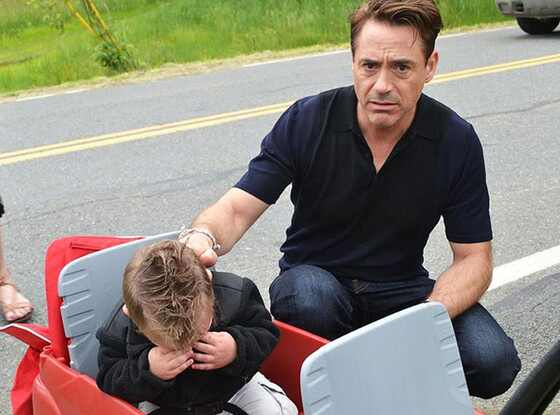 Jaxson Denno, Robert Downey Jr.