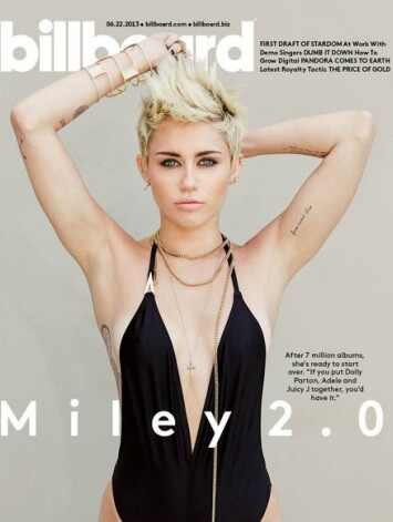 Miley Cyrus, Billboard, portada