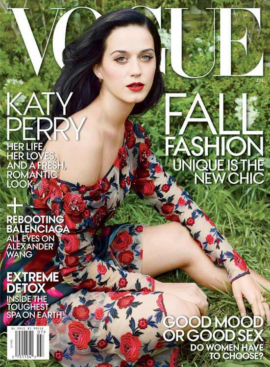 Katy Perry, capa Vogue