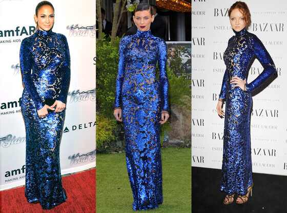 Jennifer Lopez, Liberty Ross, Lily Cole