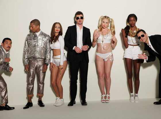 Jimmy Kimmel, Blurred Lines