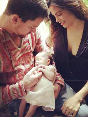 Channing Tatum, Jenna Dewan, Everly