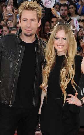 Avril Lavigne e Chad Kroeger se casam na França