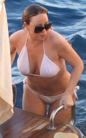 Mariah Carey Wadrobe Malfunction