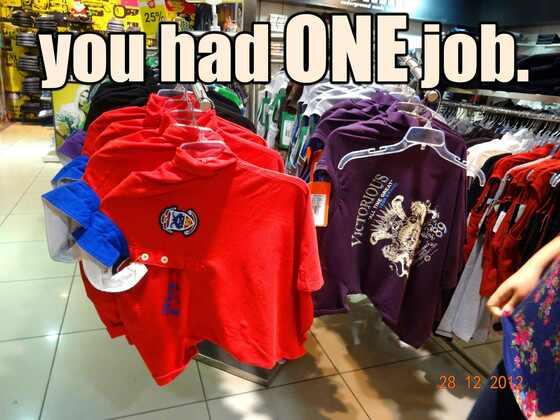 Tshirt one job