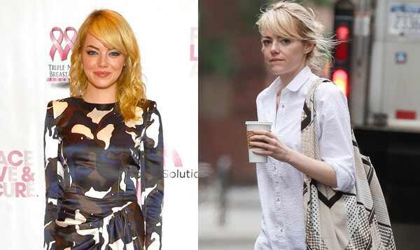 Emma Stone, Emma Stone sem maquiagem
