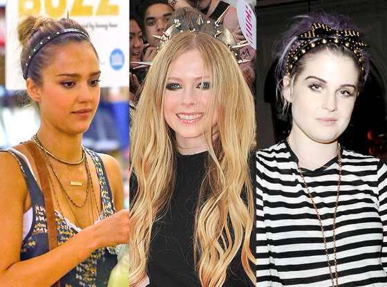 Jessica Alba, Avril Lavigne, Kelly Osbourne