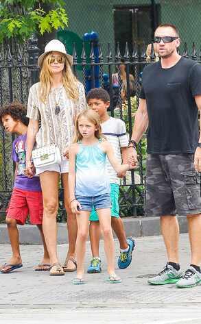 Heidi Klum, Martin Kristen, Kids