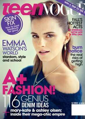 Emma Watson, Teen Vogue