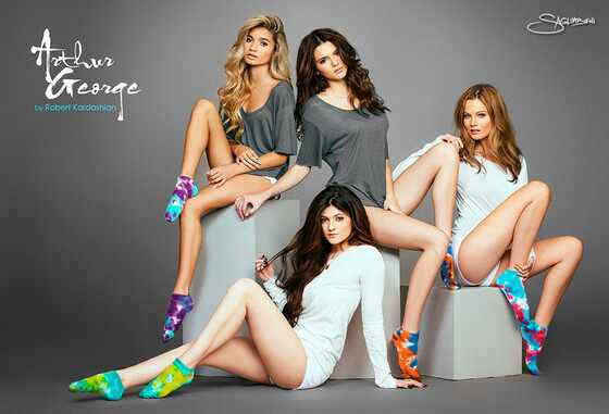Kylie Jenner, Kendall Jenner, Arthur George