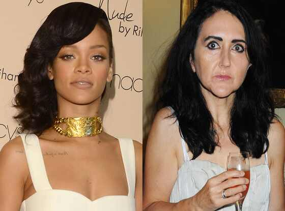 Rihanna, Liz Jones