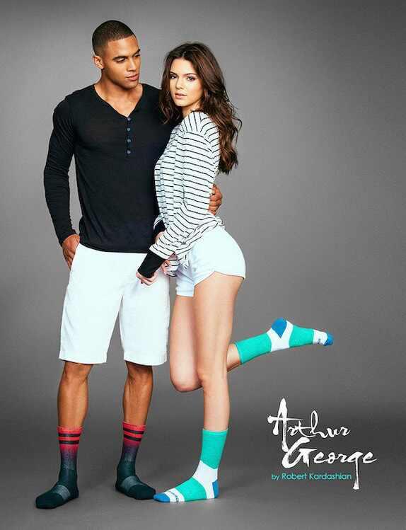 Kendall e Kylie Jenner, Arthur George