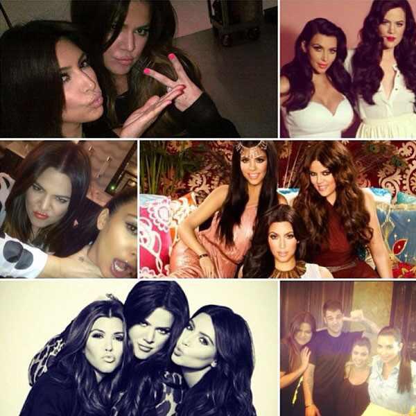 Kardashian Family, Instagram