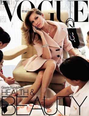 Gisele Bundchen, Vogue Italia