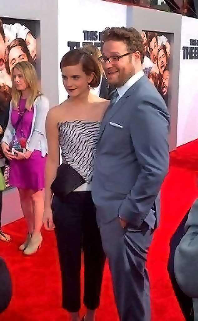 Emma Watson, Seth Rogen, This is the End, Twit Pic