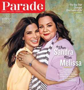 Parade, Sandra Bullock, Melissa McCarthy