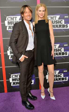 Keith Urban, Nicole Kidman, CMT Awards