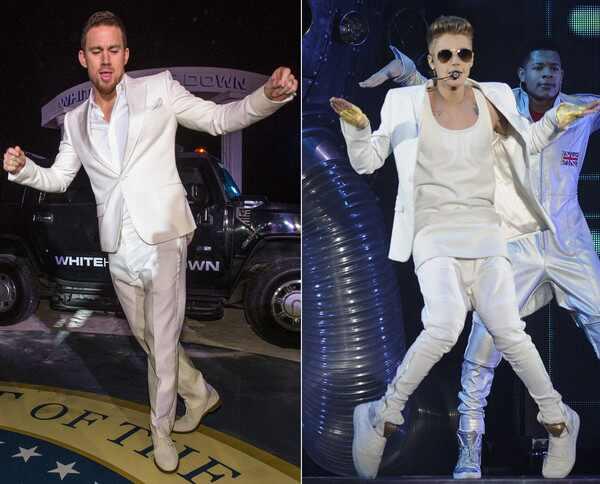 Channing Tatum, Justin Bieber