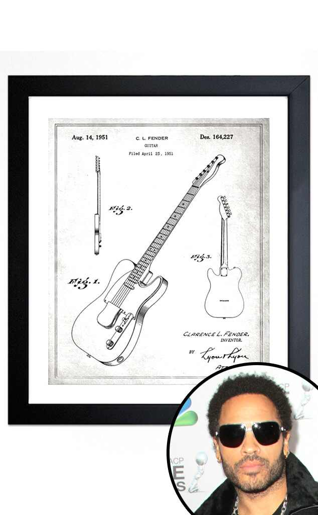 Father's Day Gift Guide, Rocker Dad, Lenny Kravitz