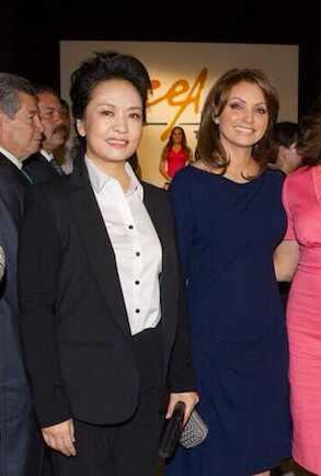 Angélica Rivero, Primera Dama China