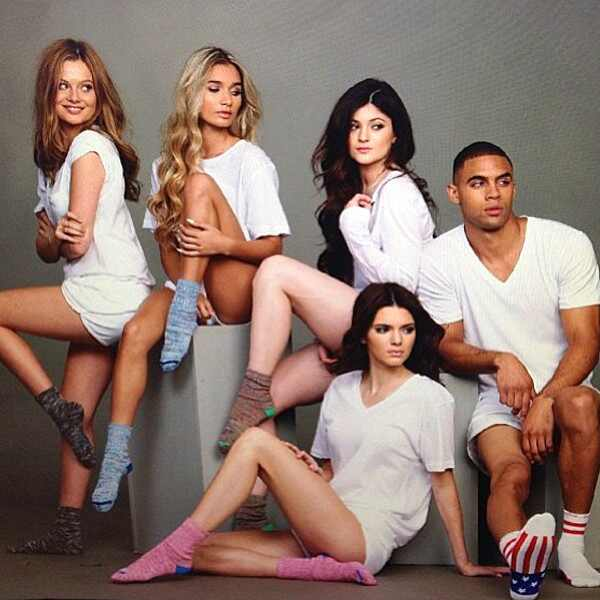 Kylie Jenner, Kendall Jenner, Arthur George Socks