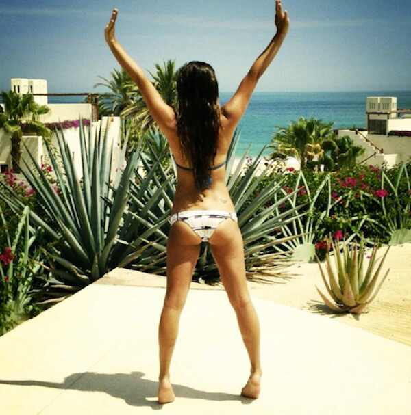 Lea Michele, Lea Michele biquini
