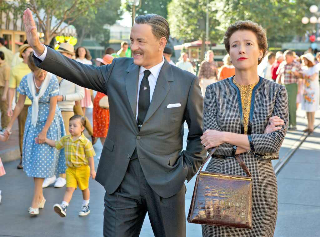 Tom Hanks, Emma Thompson, Saving Mr. Banks, Holiday Movie Guide
