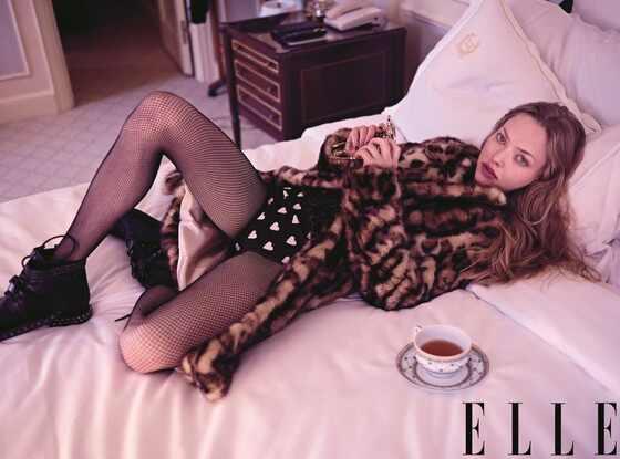 Amanda Seyfried, Elle Magazine