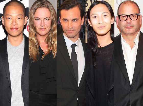 Jason Wu, Emma Hill, Nicolas Ghesquiere, Alexander Wang, Reed Krakoff