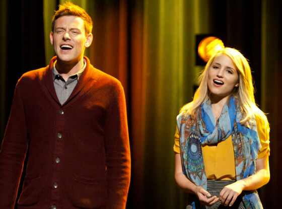 GLEE, Cory Monteith, Dianna Agron
