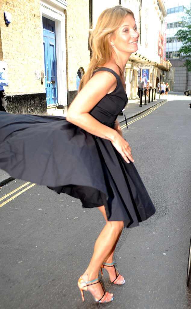 Kate Moss, Wardrobe Malfunction