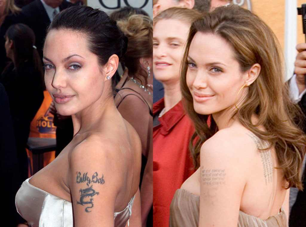 Angelina Jolie, Tattoo
