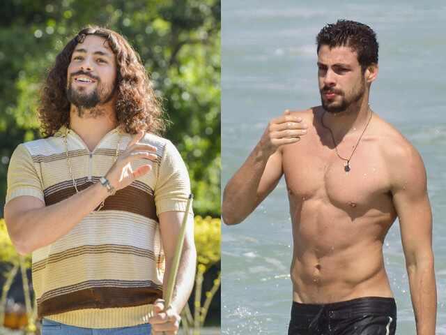 Cauã Reymond antes e depois