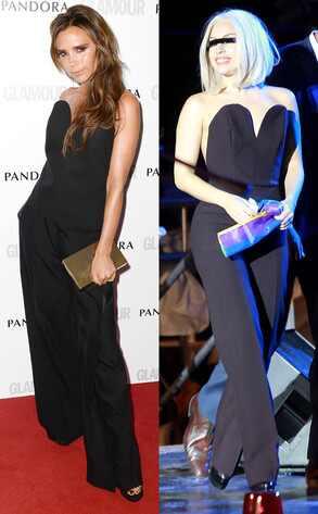 Victoria Beckham, Lady Gaga