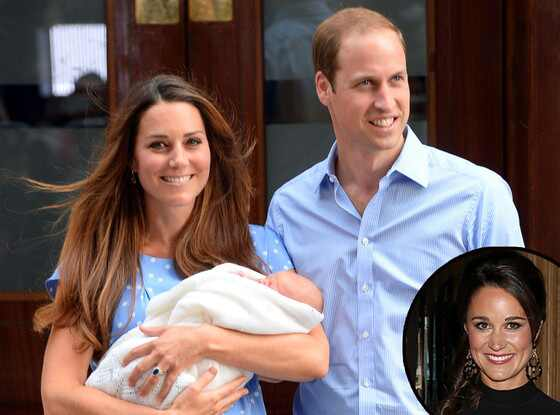 Royal Baby, Kate Middleton, Catherine, Duchess of Cambridge, Prince William, Pippa Middleton
