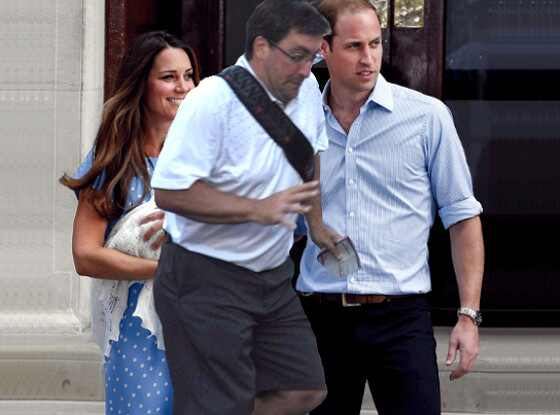 Royal Baby, Kate Middleton, Duchess of Cambridge, Prince William, In The Way Guy